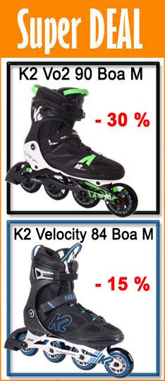 Super Deal - K2 Herren Inliner - nur bis  14.08.2020 - 24:00 Uhr