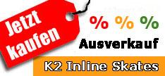 K2 Inline Skates Ausverkauf