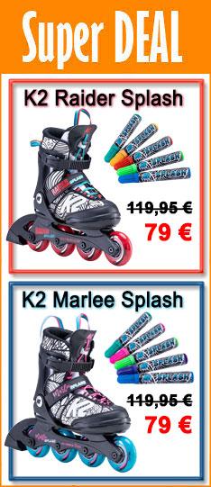 K2 Raider / Marlee Splash - 34 % nur nur bis Dienstag 03.111.2020 - 24:00 Uhr