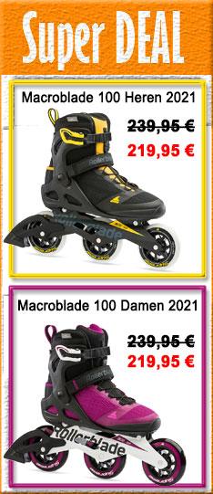 Super Deal - Rollerblade Macroblade Modelle 2021 - nur bis  20.09.2020 - 24:00 Uhr