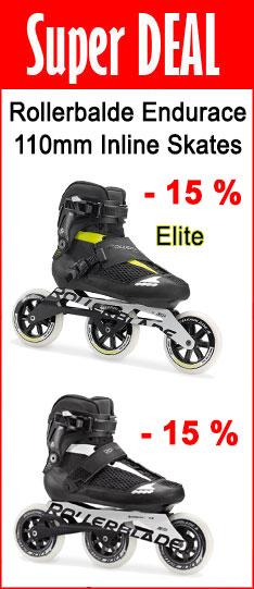 Super Deal - Rollerblade Elite Inline Skates - nur bis  07.08.2020 - 24:00 Uhr