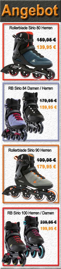 Rollerblade Sirio Damen / Herren - Im Angebot! Nur nur bis Sonntag 20.06.2021 - 24:00 Uhr