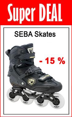 SEBA Skates HALLOWEEN Hammer! - 15 % nur nur bis Samstag 31.10.2020 - 24:00 Uhr