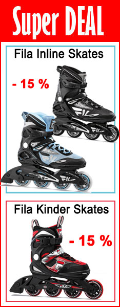 Super Deal - Fila Inline Skates - nur bis  13.08.2020 - 24:00 Uhr