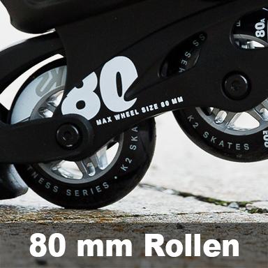 80mm Inline Skates Rollen