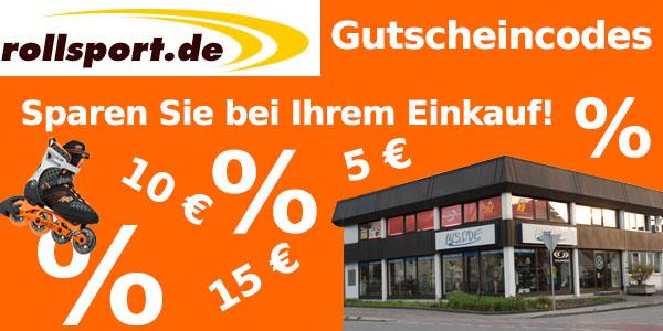 Gutschein Rollsport.de - Geld sparen mit den Rabatt Aktionen von Rollsport