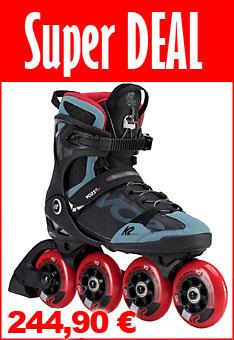 Super Deal K2 VO2 90 Herren Inline Skates - nur bis  05.06.2020 - 24:00 Uhr