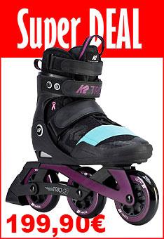 Super Deal K2 Splash - bemalbare KinderK2 Trio 100 Damen Inline Skates - nur bis  01.06.2020 - 24:00 Uhr