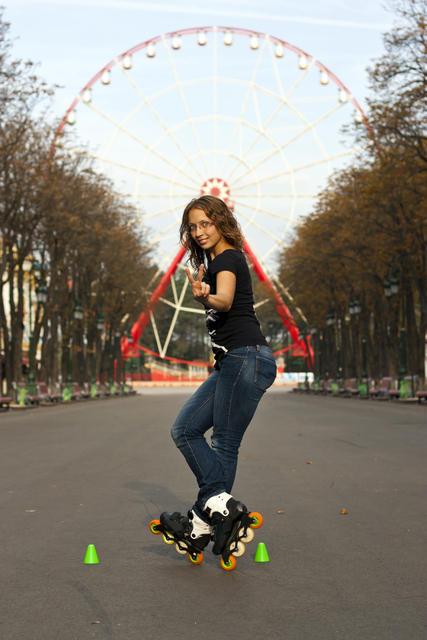 Free Skating Powerslide