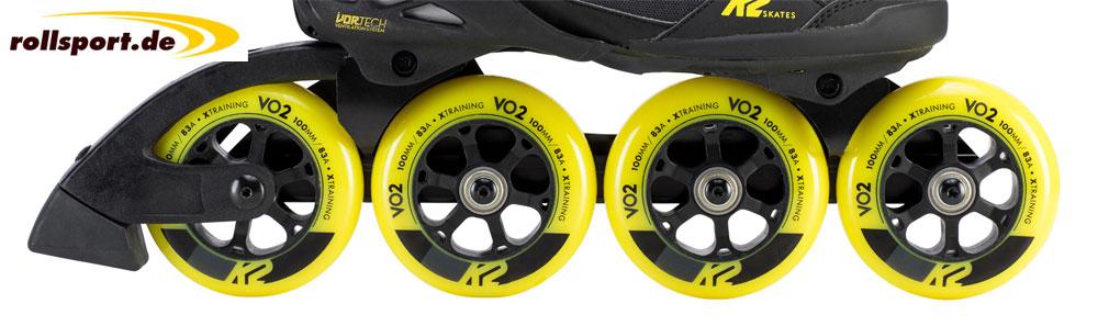K2 Vo2-S Schienentechnik 100mm